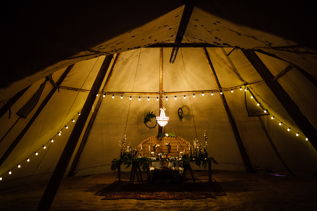 Wilderness Weddings Kent Outdoor Tipi Woodland Wedding Venue